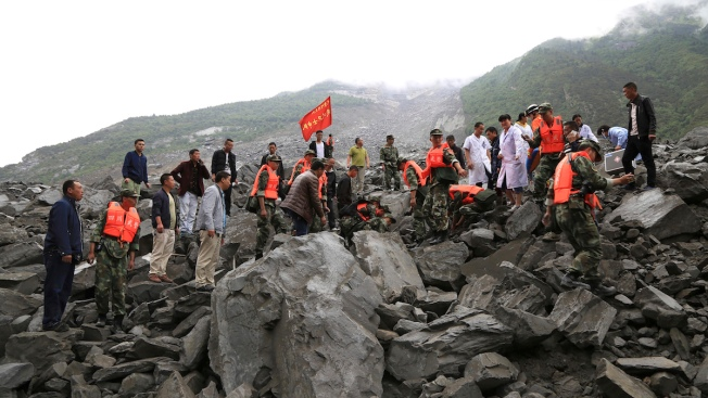 9 Bodies Found After Landslide Buries Scores in China