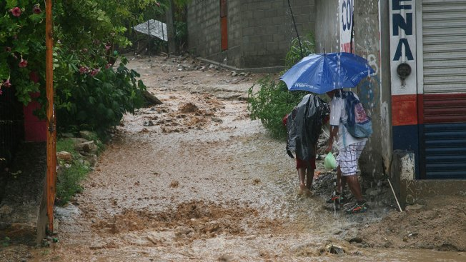 Weakening Tropical Storm Max Dumps Rain on Southern Mexico