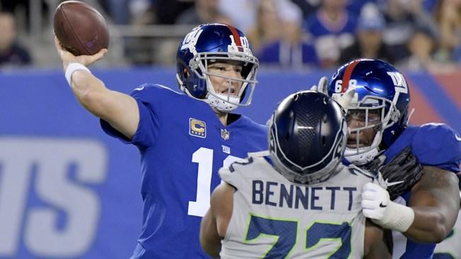 Giants Fall to Seahawks, 24-7