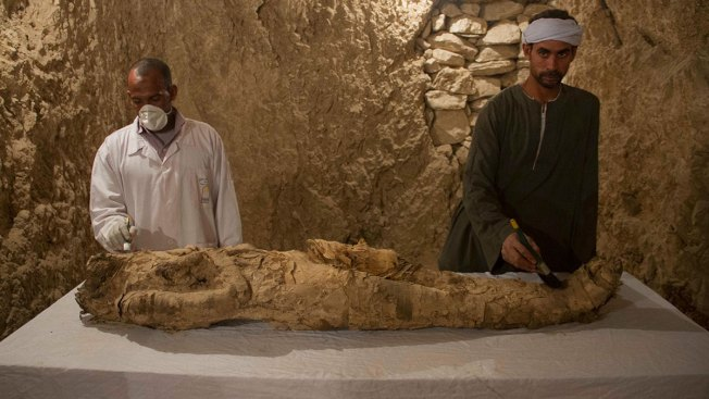 Archaeologists Discover 2 Ancient Tombs in Egypt's Luxor