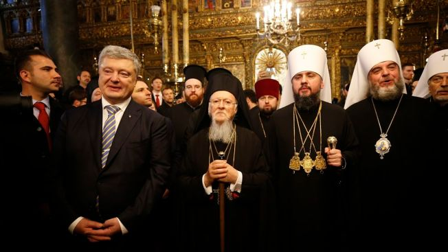 Ukrainian Orthodox Church Breaks Away From Russian Influence