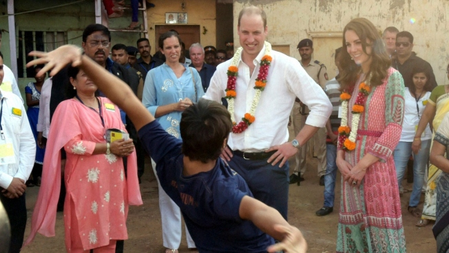 The Duke and Duchess of Cambridge Begin Royal Tour of India