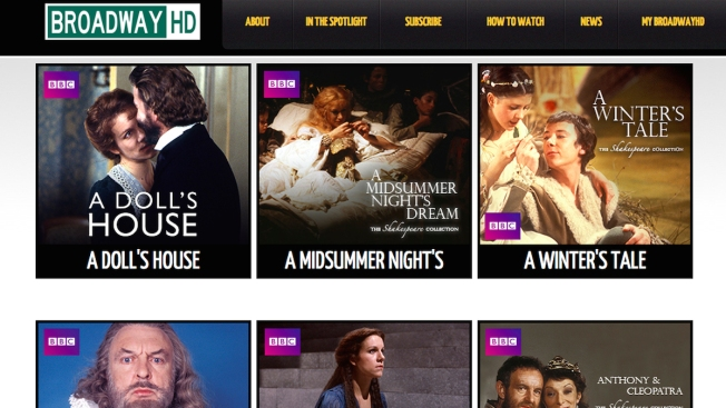 Online Site BroadwayHD Offers to Stream Live Theater