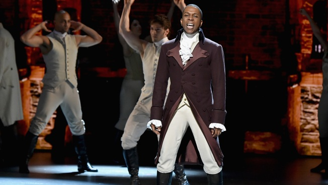 Leslie Odom Jr. Leaving 'Hamilton' With Lin-Manuel Miranda
