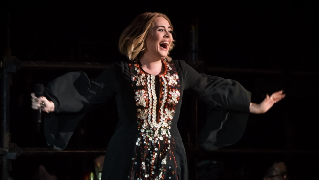Adele Burps Onstage at Glastonbury Festival