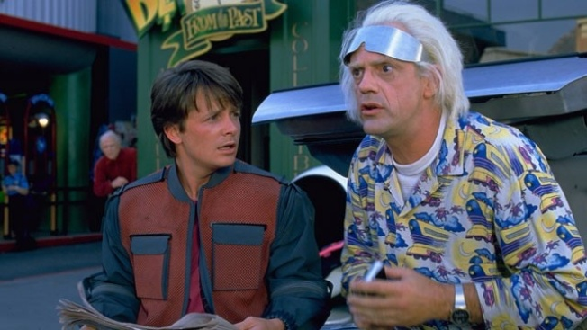 Today, Connecticut Residents Travel 'Back to the Future'