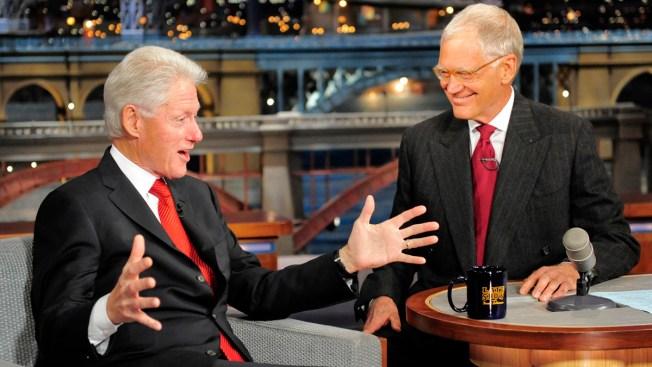 Bill Clinton on Letterman: No Idea About Hillary's 2016 Run
