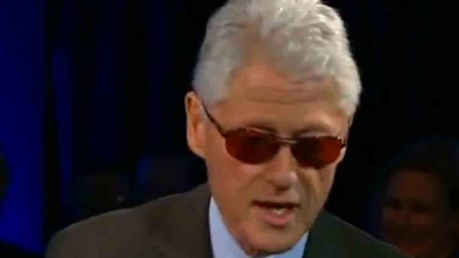 Bill Clinton Returns the Favor, Offers Up His Best Bono Impression