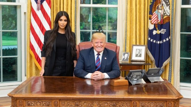 Kardashian West Visits White House to Talk Prison Reform, Urge Pardon