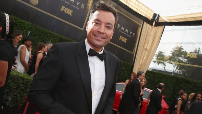 Jimmy Fallon Falls Again, Hurts Finger at Party