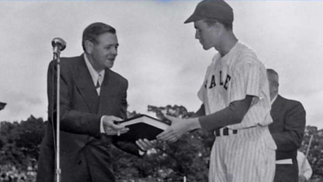 George H W Bush Remembered For College Baseball Career Nbc