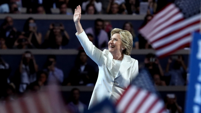 Accepting Nomination, Clinton Promises Unity and a Steady Hand in a Dangerous World