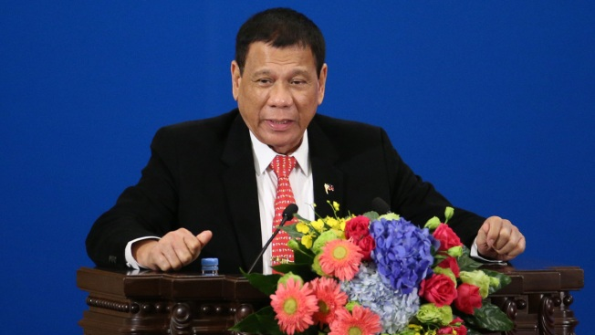 Philippine President Announces Separation From US