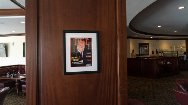 Time Asks Trump Org to Remove Fake Magazine Covers From Golf Club Walls