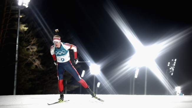 Biathlon At The 2020 Olympic Winter Games.Norway S Boe For The Gold In Men S Biathlon 20km Nbc