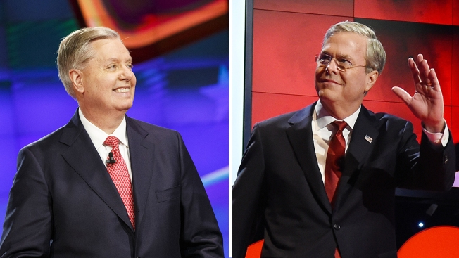 Jeb Bush Picks Up Endorsement From Lindsey Graham