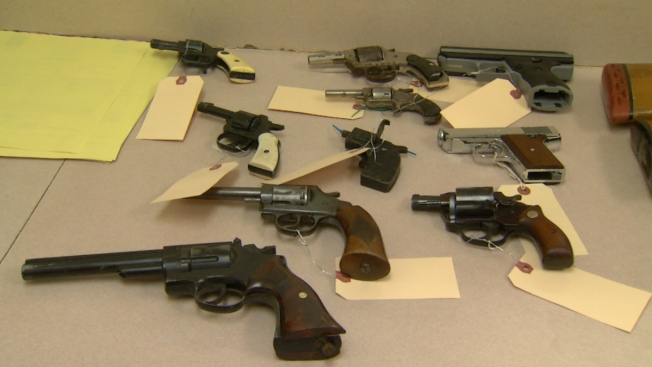 26 Weapons Collected at Hartford Gun Buyback