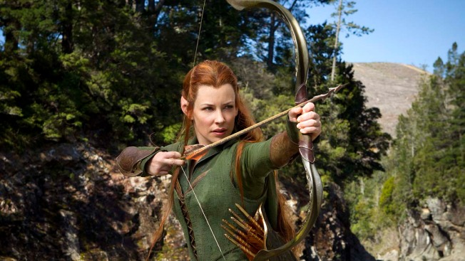 "Evangeline Lilly Is Back in ""The Hobbit"""