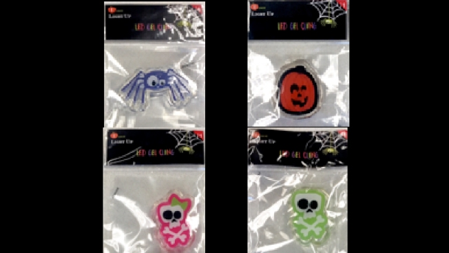 Target recalls over 100K Halloween gel clings due to choking hazard