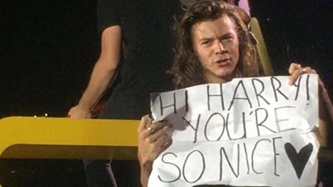 One Direction's Harry Styles Corrects a Fan's Grammar