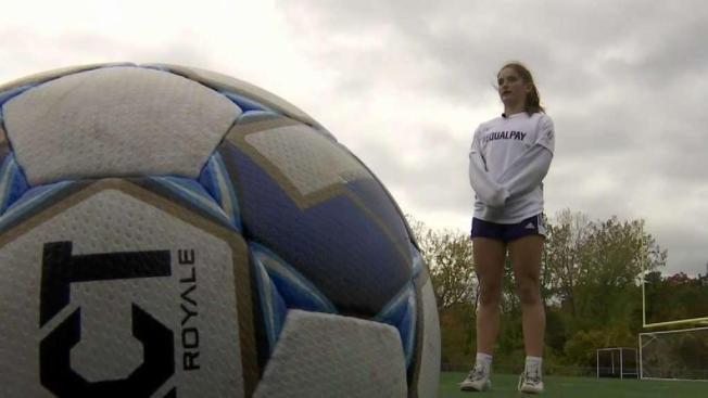 High School Soccer Team Pushes for Pay Equity