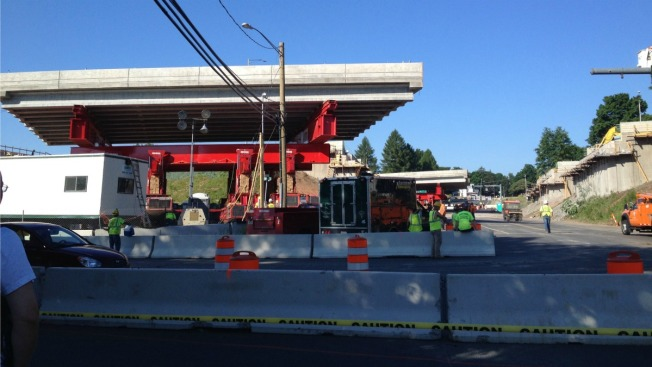 I-84 Reopens after Southington Bridge Construction