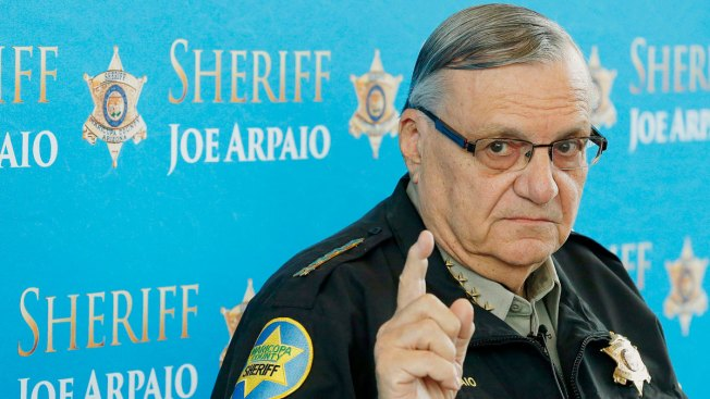 Sheriff Joe Arpaio officially charged with criminal contempt