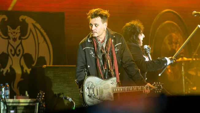 Johnny Depp Takes the Stage in Portugal Amid Abuse Allegations