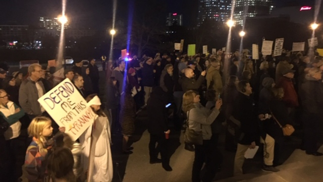 Connecticut Protesters Join National Movement Demanding Protection for Mueller Probe