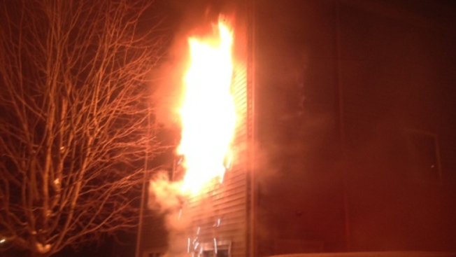 3-Alarm Fire Rips Through Milford Condo Complex