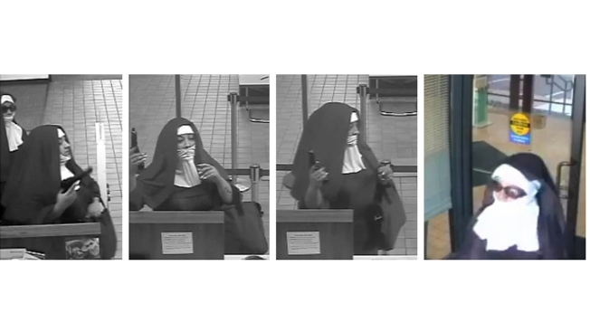 New Haven Woman Sentenced for Crime Spree, Robbing Bank Dressed as Nun
