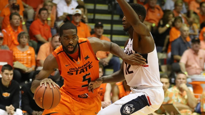 Oklahoma State Knocks Off UConn 98-90 at Maui Invitational