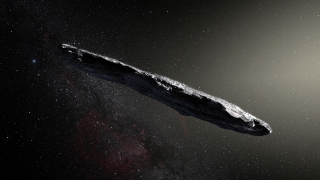 Initial scans of interstellar object show no signs of alien technology