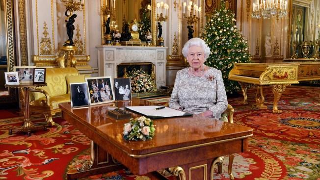 Queen Elizabeth II Riffs on Wisdom, Family's Busy Year