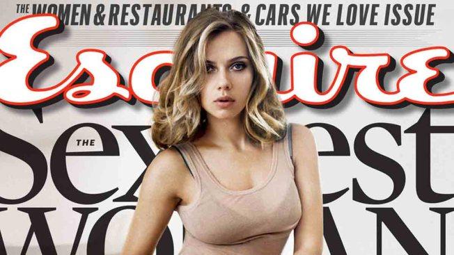"""Esquire Names Scarlett Johansson """"Sexiest"""" Again"""