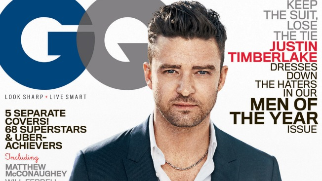 Justin Timberlake Among GQ's Men of the Year