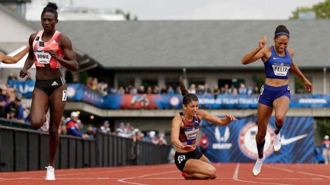 Allyson Felix Finishes 4th, No Chance for Olympic Double