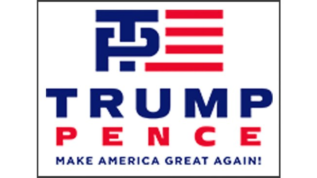 New Trump-Pence Logo Raises Eyebrows, Gets Mocked on Social Media