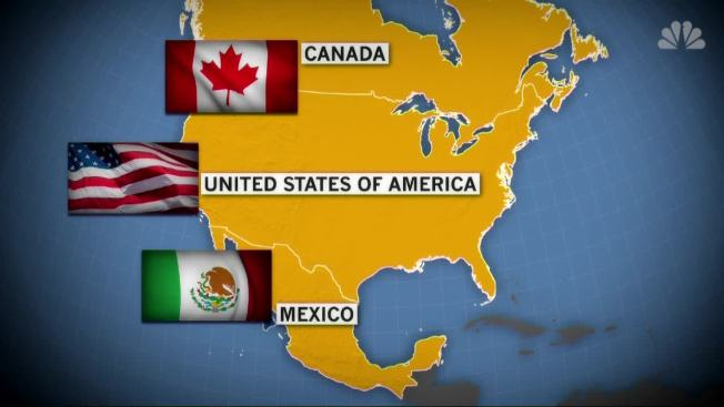 US, Canada Reach Deal to Stay in Trade Pact With Mexico - NBC ...