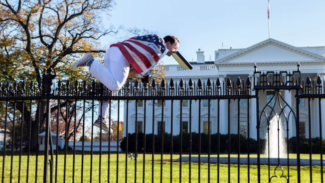 Judge: Jumping Over White House Fence Not Free Speech
