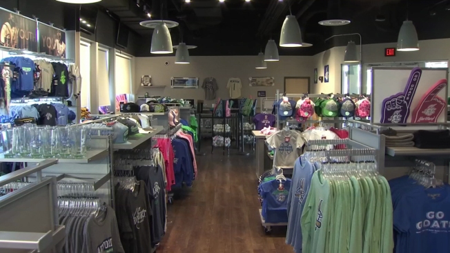 Fans Flood Team Store For Yard Goats Gear on Opening Day