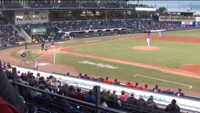 Yard Goats Win Home Opener