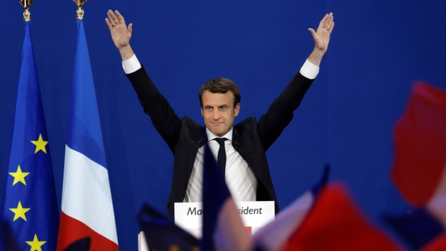 Macron's New Party Marching Toward Centrist Takeover of French Parliament