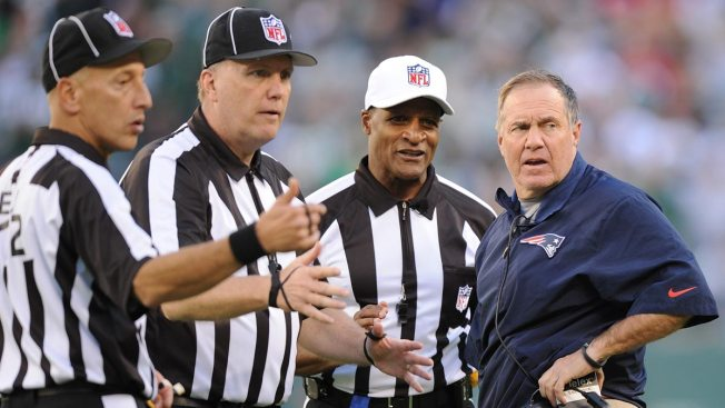 Belichick Takes Blame on Jones Penalty