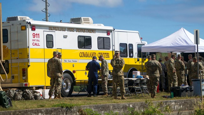 Crews Find Debris, Helmet as Search Continues for 5 Missing From Downed Army Helicopter