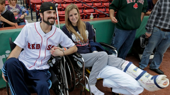 Couple Injured in Boston Bombing Getting Their Dream Wedding