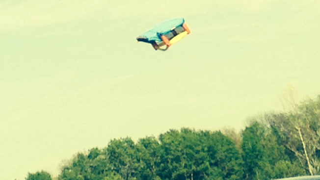 Boys Hurt When Wind Blows Bounce House 20 Feet in Air