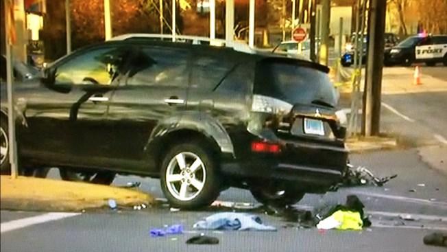 Geist Road Car Crash