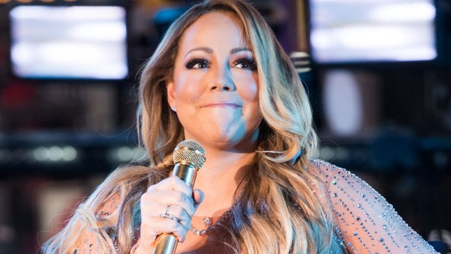 Mariah Carey Works Out in Fishnets and Stilettos