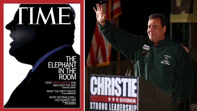 """Time Calls Chris Christie """"The Elephant in the Room"""""""